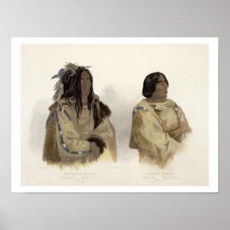 Mehkskeme-Sukahs, Blackfoot Chief and Tatsicki-Sto Poster
