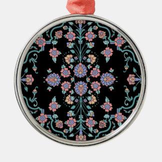 Mehndi Cross Metal Ornament