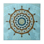 Mehndi Fantasy Copper Tile