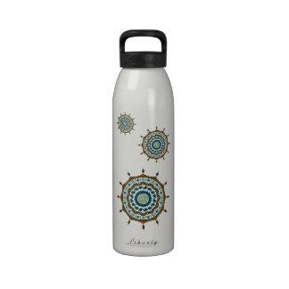 Mehndi Fantasy Copper Water Bottle