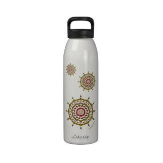 Mehndi Fantasy Gold Water Bottle