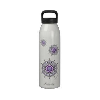 Mehndi Fantasy Silver Water Bottle