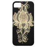 mehndi floral del oro iPhone 5 protector