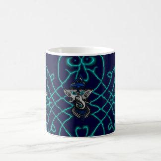 Mehndi Ganesha (Blue) Coffee Mug
