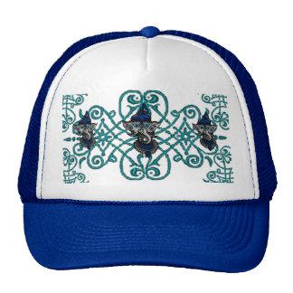 Mehndi Ganesha (Blue) Trucker Hat
