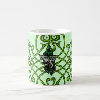Mehndi Ganesha (Green) Coffee Mug