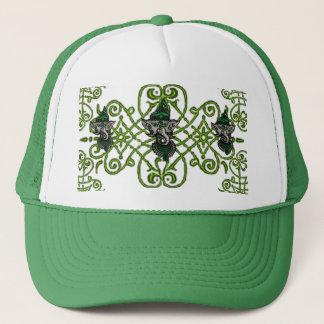 Mehndi Ganesha (Green) Trucker Hat