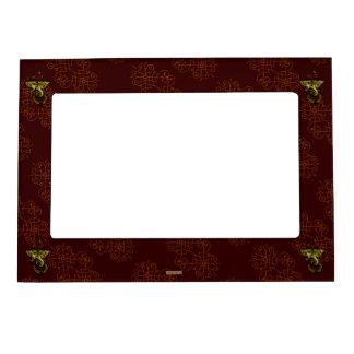 Mehndi Ganesha Magnetic Photo Frame