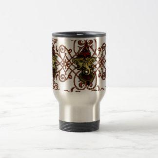 Mehndi Ganesha Coffee Mugs