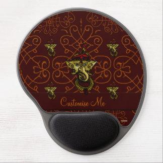 Mehndi Ganesha (Red) Gel Mouse Pad