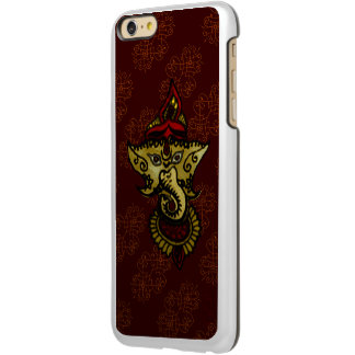Mehndi Ganesha (Red) Incipio Feather® Shine iPhone 6 Plus Case