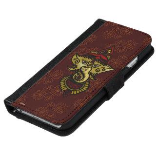 Mehndi Ganesha (Red) iPhone 6 Wallet Case
