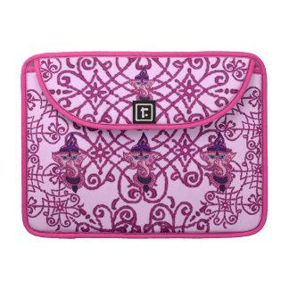 Mehndi Ganesha (rosa) Fundas Para Macbooks