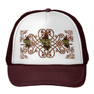 Mehndi Ganesha Trucker Hat