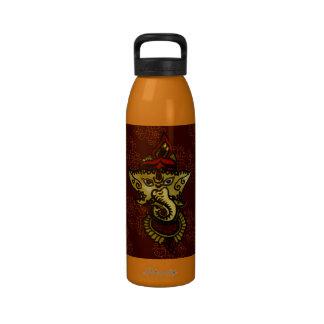Mehndi Ganesha Reusable Water Bottle