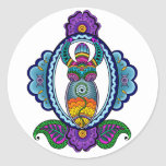 Mehndi Goddess Stickers