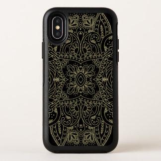 Mehndi Gold OtterBox Symmetry iPhone X Case
