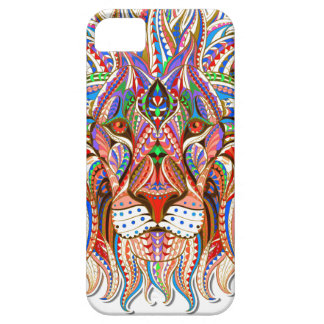mehndi henna lion colorful psychedelic case cover