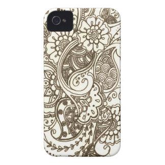 Mehndi iPhone 4 Covers