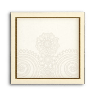 Mehndi Lace (Envelope for 5x5 inch Cards) Envelope
