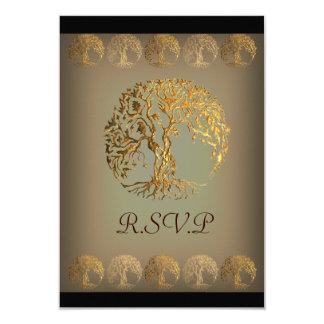Mehndi Tree of Life (Gold) Card