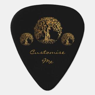 Mehndi Tree of Life (Henna) Guitar Pick