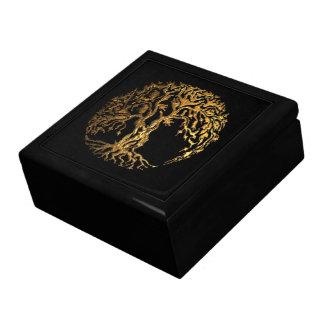 Mehndi Tree of Life (Henna) Jewelry Box