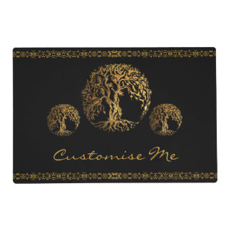 Mehndi Tree of Life (Henna) Placemat