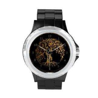 Mehndi Tree of Life (Henna) Wrist Watches