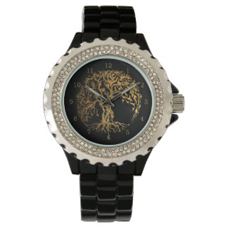 Mehndi Tree of Life (Henna) Wristwatch