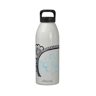 mehndi water bottle