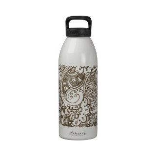 Mehndi Reusable Water Bottle
