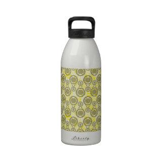 Mehndi Yellow Drinking Bottle