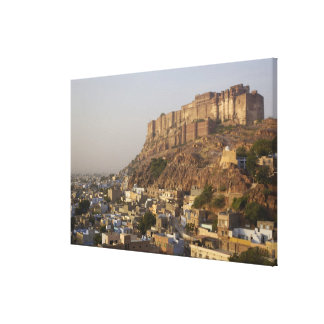 Mehrangarh Fort of Jodhpur. Rajasthan, INDIA. Canvas Prints