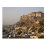 Mehrangarh Fort of Jodhpur. Rajasthan, INDIA. Postcard
