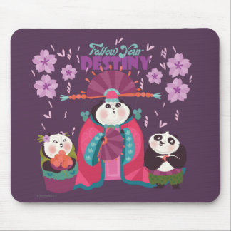Mei Mei - Follow Your Destiny Mouse Pad