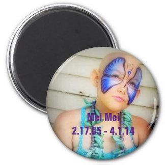Mei Mei magnet 2 Inch Round Magnet