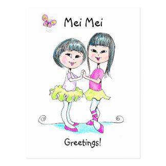 Mei Mei postcard