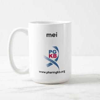 mei classic white coffee mug