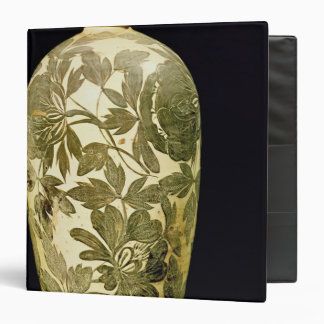 Mei P'ing vase with a black floral decoration Binder
