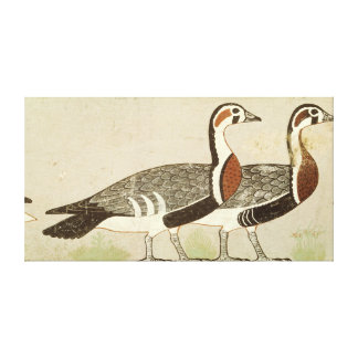 Meidum geese, from the Tomb of Nefermaat and Stretched Canvas Prints