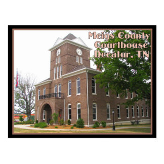 Meigs County Courthouse - Decatur, TN Postcard