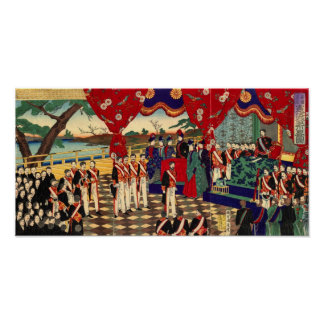 Meiji Constitution Promulgation Poster