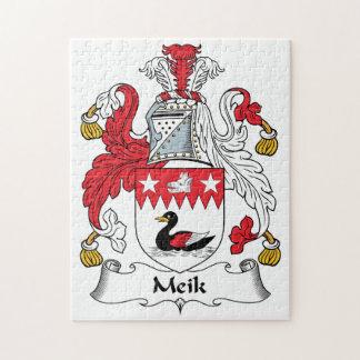 Meik Family Crest Jigsaw Puzzle