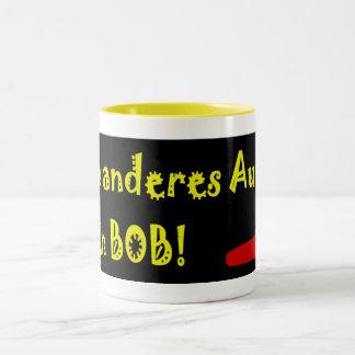 Mein Anderes Auto ist ein Bob Two-Tone Coffee Mug