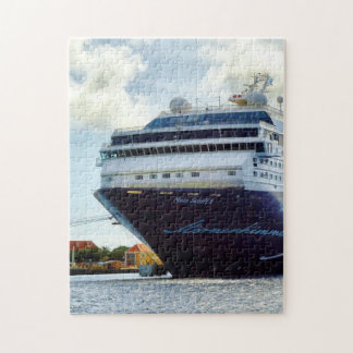 Mein Blue Bow Jigsaw Puzzle