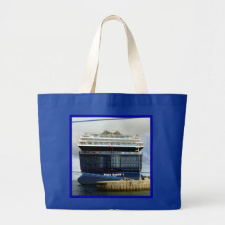 Mein Schiff 1 Stern Blue Large Tote Bag
