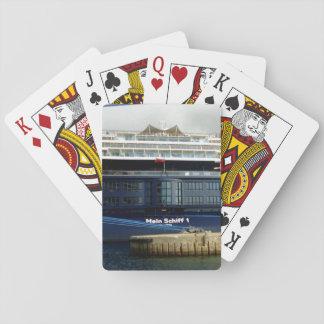 Mein Schiff 1 Stern Playing Cards