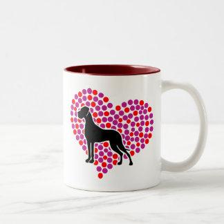 Meine Herzendogge Coffee Mug