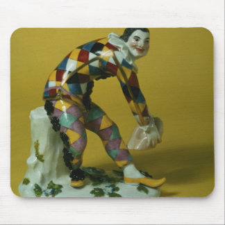 Meissen figure of Harlequin, c.1750 Mouse Pad